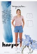 Megan Nielsen Ladies Sewing Pattern 2209 Harper Shorts & Skort
