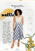 Megan Nielsen Sewing Pattern Wattle Skirt