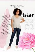 Megan Nielsen Ladies Easy Sewing Pattern 2303 Briar Sweater & T Shirt