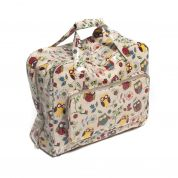 Hobby & Gift PVC Vinyl Sewing Machine Storage Bag Owl Print