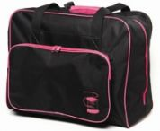 Hemline Sewing Machine Travel Bag  Black & Pink