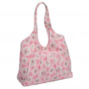 Hobby & Gift Craft Bag Storage Cameo Floral Print  Pink