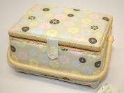 Hobby & Gift Vintage Buttons Print Medium Craft Storage Box