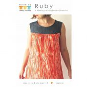 Made By Rae Ladies Easy Sewing Pattern Ruby Dress