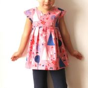 Made By Rae Girls Sewing Pattern Geranium Dress