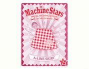 Machine Stars Childrens Learn to Sew Sewing Pattern A Line Skirt