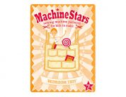 Machine Stars Childrens Learn to Sew Sewing Pattern Bedroom Tidy