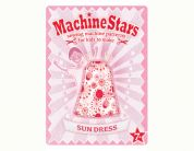 Machine Stars Childrens Learn to Sew Sewing Pattern Sundress