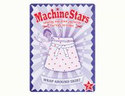 Machine Stars Childrens Learn to Sew Sewing Pattern Wrap Around Skirt