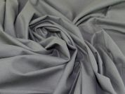 Lady McElroy Brushed Cotton Flannel Fabric  Grey