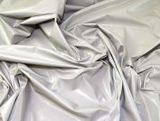 Lady McElroy Latex PU Coated Hi Shine PVC Fabric  Grey