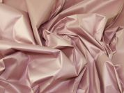 Lady McElroy Showerproof Sateen Fabric  Rose Pink