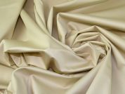 Lady McElroy Sateen Suiting Fabric  Cream