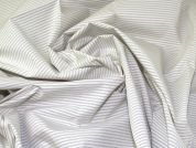 Lady McElroy Cotton Shirting Fabric  Ivory