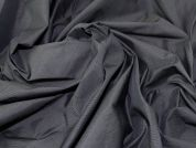 Lady McElroy Techno Sheened Suiting Fabric  Charcoal