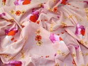Lady McElroy Cotton Lawn Fabric  Soft Pink