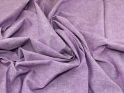 Lady McElroy Pure Linen Fabric  Lavender