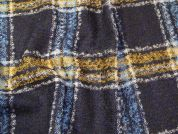Check Tweed Coating Fabric  Multicoloured