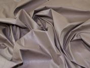 Faux Leather Fabric  Taupe