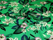 Silky ITY Knit Fabric  Emerald