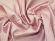 Stretch Linen Cotton Fabric  Baby Pink