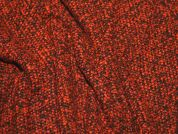 Italian Boucle Tweed Coat Weight Dress Fabric  Ginger
