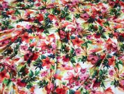 Viscose Jersey Knit Fabric  Multicoloured