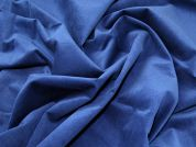 Stretch Chenille Suiting Fabric  Blue