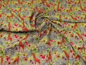 Linen Viscose Fabric  Multicoloured