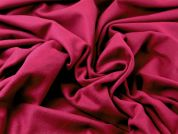 Italian 80% Wool Plain Heavy Coat Weight Dress Fabric  Plum