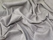 Crinkle Cotton Gauze Fabric  Grey