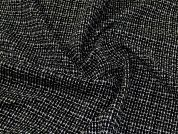 Woven Coating Fabric  Black & White
