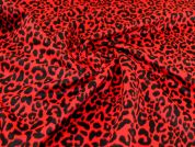 Wool Coating Fabric  Red