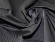 Grosgrain Suiting Fabric  Black