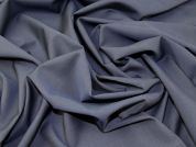 English Wool & Mohair Blend Suiting Dress Fabric  French Navy