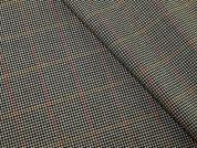 English 100% Wool Plaid Check Suiting Dress Fabric  Caramel