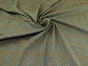 Wool Coating Fabric  Sage