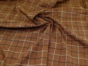 Wool Coating Fabric  Tan