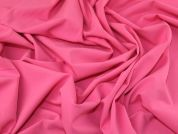 Plain Stretch Suiting Dress Fabric  Candy Pink