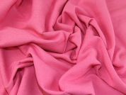 Textured Cotton & Polyester Suiting Dress Fabric  Candy Pink