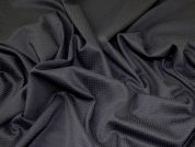 Poly Viscose Stretch Suiting Dress Fabric  Black