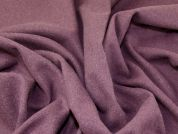 Wool Blend Coat Weight Dress Fabric  Plum