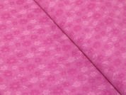Floral Weave Stretch Bengaline Suiting Dress Fabric  Candy Pink