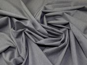 Four Way Stretch Suiting Fabric  Grey