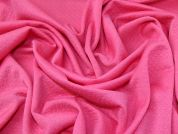 Quilted Ponte Roma Knit Fabric  Bright Pink