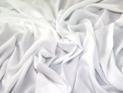 Dobby Challis Fabric  White