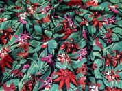 Stretch Cotton Fabric  Multicoloured