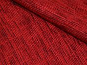 Chenille Texture Coating Dress Fabric  Red