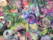 Cotton Voile Fabric  Multicoloured