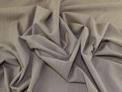 Textured Weave Pure Wool Crepe Dress Fabric  Stone